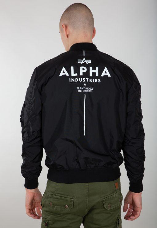 Alpha Industries MA-1 TT Glow In The Dark Black