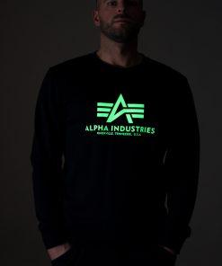 Alpha Industries Basic T Kryptonite Black