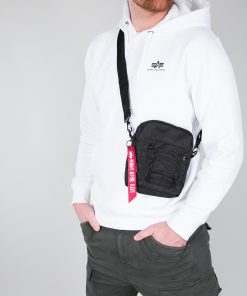 Alpha Industries Crew Carry Bag Black