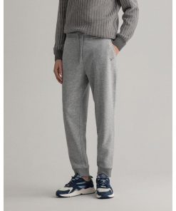 Gant Originals Sweat Pants Grey Melange