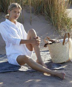 Balmuir Beatrice Straw Shopper Cognag