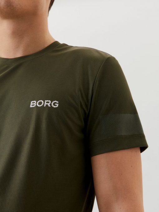 Björn Borg Training Tee Ivy Green