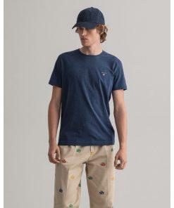 Gant The Orginal T-Shirt Marine Melange