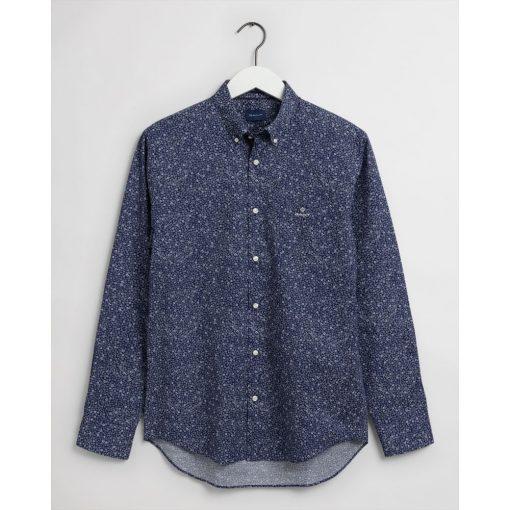 Gant Freedom Flower Shirt Classic Blue