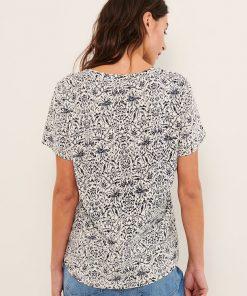 Part Two Gesina T-shirt Wallpaper Scratch/Navy