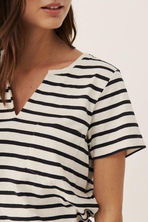 Part Two Gesina T-shirt Stripe/Black