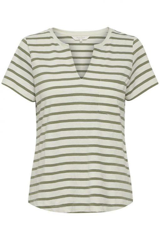 Part Two Gesina T-shirt Stripe/Vetiver