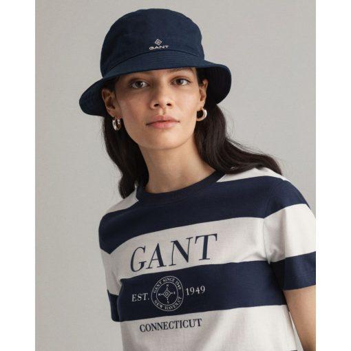 Gant Woman Nautical T-shirt Evening Blue