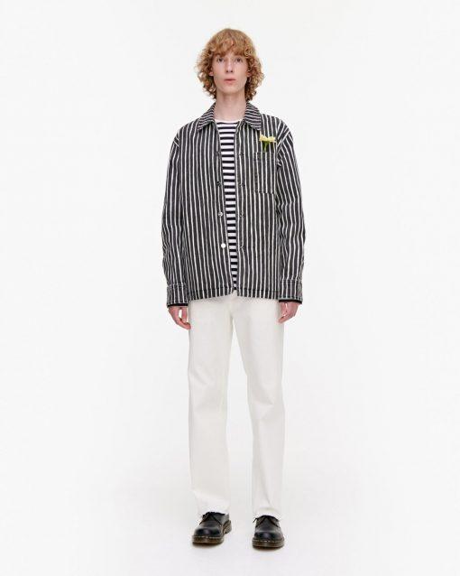 Marimekko Oksilla Piccolo Jacket Black/Natural white