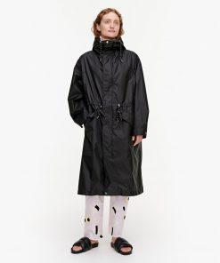 Marimekko Pelto Coat Black