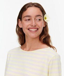 Marimekko Ilma Tasaraita T-shirt Yellow