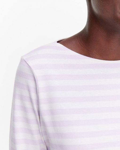 Marimekko Ilma Tasaraita T-shirt Lavender