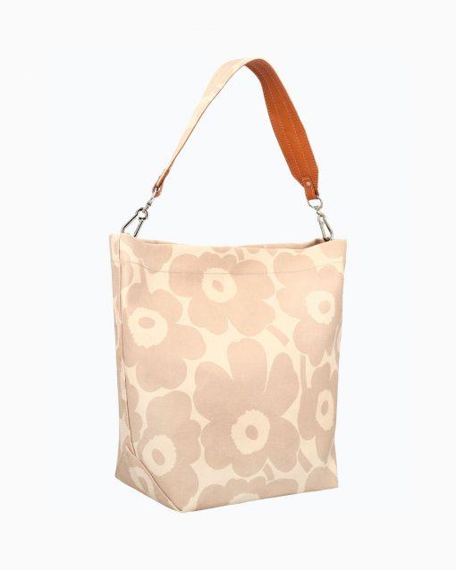 Marimekko Kuunsäde Unikko Bag Beige