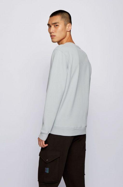 Hugo Boss Weevo 2 Sweatshirt Light Grey