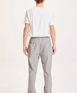 Knowledge Cotton Apparel Fig Loose Club Pant Light Grey