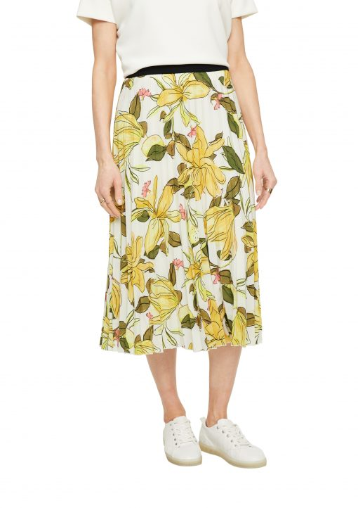 Comma, Flower Skirt Green