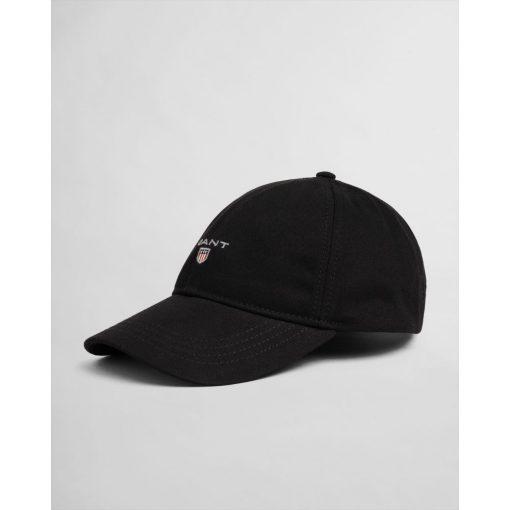 Gant Cotton Twill Cap Black