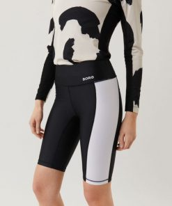 Björn Borg Stripe Bike Shorts Black Beauty