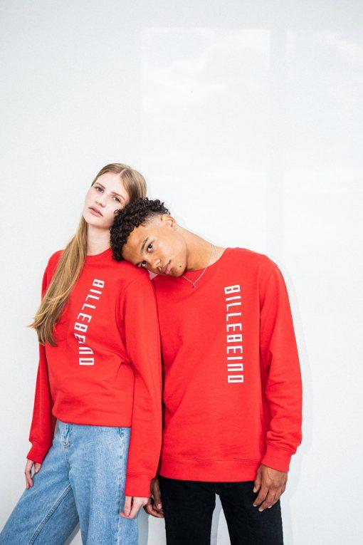 Billebeino Side Print Sweatshirt Red