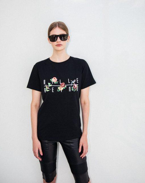 Billebeino Birds & Flowers T-shirt Black