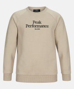 Peak Performance Junior Original Crew Neck Celsian Beige