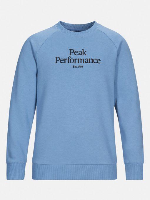 Peak Performance Junior Original Crew Neck Dark Haze