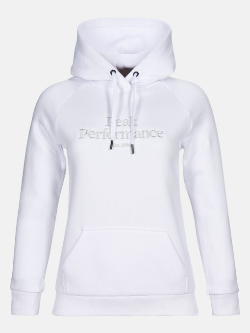 Peak Performance Original Hood Women White