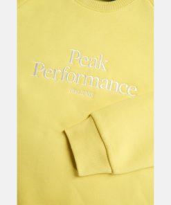Peak Performace Original Crew Women Citrine