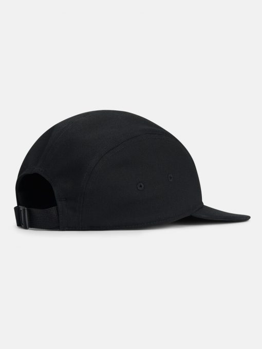 Peak Performance 5 Panel Cap Black