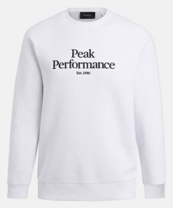 Peak Performace Original Crew Men White