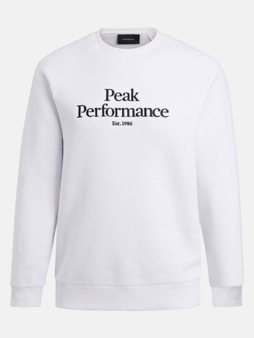 Peak Performace Original Crew Men White