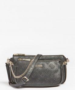 Dayane 4G Peony Crossbody Bag Black