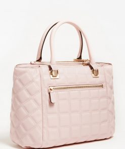 Kamina Quilted Handbag Blush