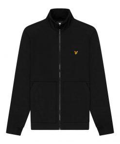 Lyle & Scott Funnel Neck Softshell Jacket Jet Black