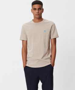 Les Deux Piece T-shirt Light Brown Melange