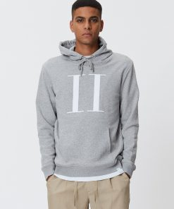 Les Deux Encore Light Hoodie Light Grey Melange