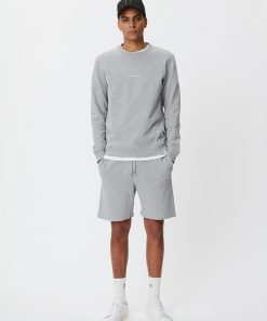 Les Deux Lens Sweatshorts Light Grey Melangec