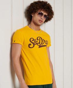 Superdry Collegiate Graphic T-shirt Utah Gold