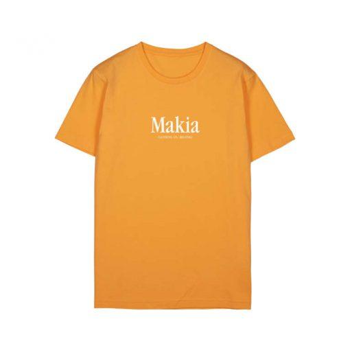 Makia Strait T-shirt Marigold
