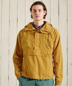 Superdry Mountain Overhead Jacket Chai Tea