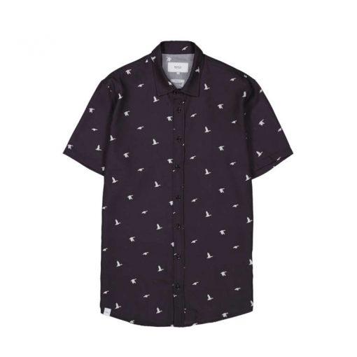 Makia Ana SS Shirt Dark Blue