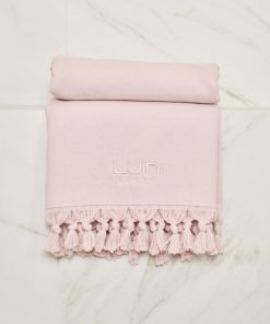 Luin Living Organic Cotton Towel 70 x 140 Dusty Rose