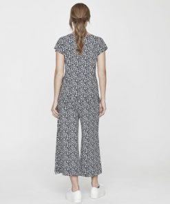Holebrook Kajsa Culotte Pants Navy Meadow