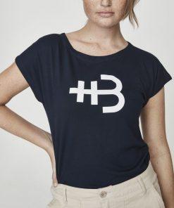 Holebrook Kajsa Capsleeve T-shirt Navy
