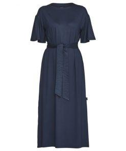 Holebrook Kajsa Slit Dress Navy