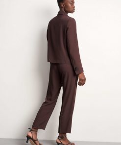 Tiger of Sweden Thera Trousers Dark Wood