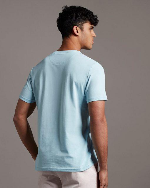 Lyle & Scott Plain T-shirt Deck Blue