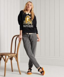 Superdry Military Narrative Sweatshirt Black