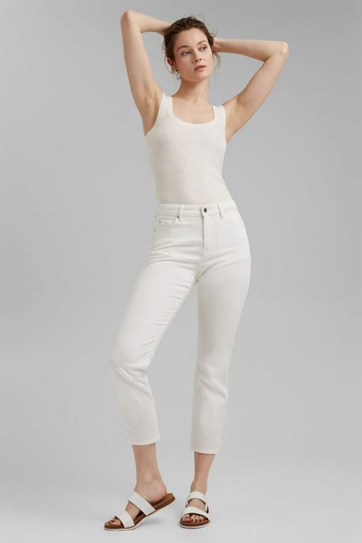 Esprit Knitted Top Offwhite