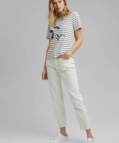 Esprit Striped T-shirt Navy